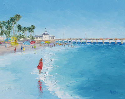 Painting - Newport Beach And Balboa Pier by Jan Matson