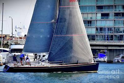 Photograph - Newport Beach Boating by Jenny Simon Photography