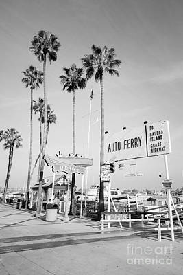 Newport Beach Ferry Entrance Photo Art Print