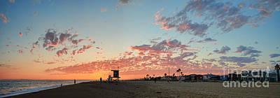Photograph - Newport Beach Panorama by Eddie Yerkish