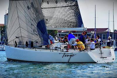 Photograph - Newport Beach Sailing by Jenny Simon Photography