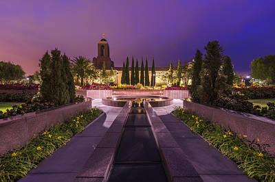 Photograph - Newport Beach Temple by Dustin  LeFevre