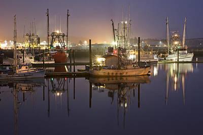 Newport Boats Art Print by Jon Glaser