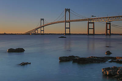 Photograph - Newport Bridge by Juergen Roth