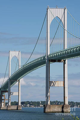Narragansett Photograph - Newport Bridge by Juli Scalzi