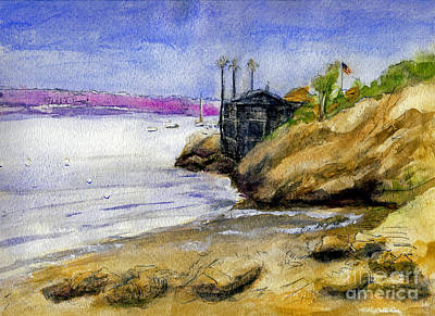 Painting - Newport Channel by Randy Sprout