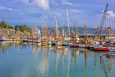 Photograph - Newport Harbor by Dennis Bucklin