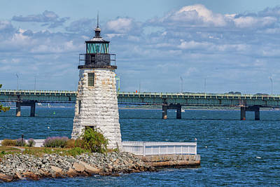 Photograph - Newport Harbor Lighthouse by Brian MacLean