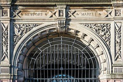 Newport Market Entrance Print by Steve Purnell