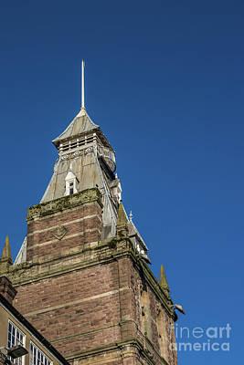 Newport Market Tower Print by Steve Purnell