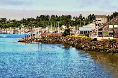 Photograph - Newport Oregon Marina by Kirsten Giving