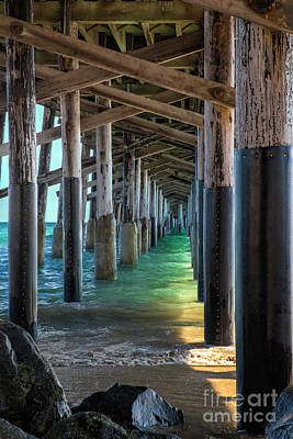 Photograph - Newport Pier Heaven by Mariola Bitner