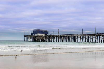 Photograph - Newport Pier by Jeremy Farnsworth