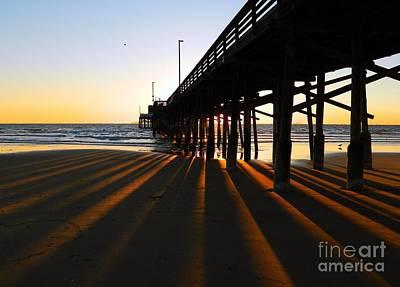 Photograph - Newport Pier, Newport Beach   by Everette McMahan jr