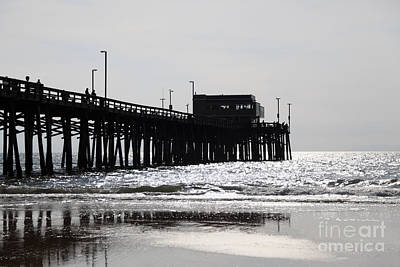 Orange County Photograph - Newport Pier by Paul Velgos