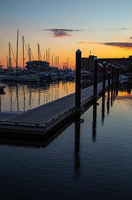 Photograph - Newports Dusk  by Karol Livote