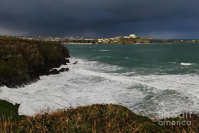 Photograph - Newquay Squalls On Horizon by Nicholas Burningham
