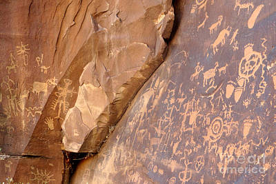 Photograph - Newspaper Rock by Frank Townsley