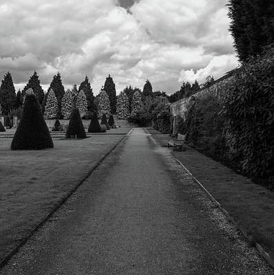 Photograph - Newstead Abbey Country Garden Gravel Path by Scott Lyons