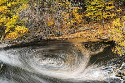 Newton Digital Art - Newton Upper Falls Whirlpool Newton Ma by Toby McGuire