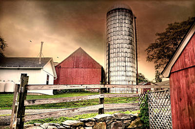 Photograph - The Newtown Silo by Diana Angstadt