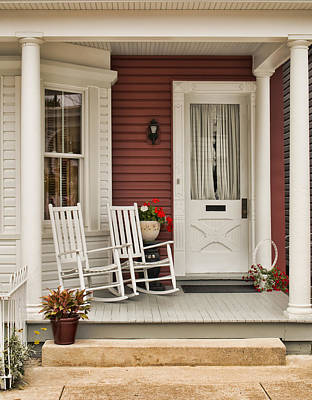 Photograph - Newville Country Porch by Kristia Adams