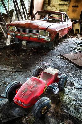 Generation Next Photograph - Next Generation Car - Urban Exploration by Dirk Ercken