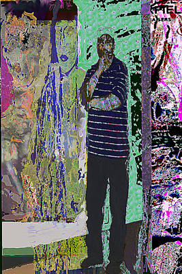 Self-portrait Mixed Media - Next  Show  by Noredin Morgan