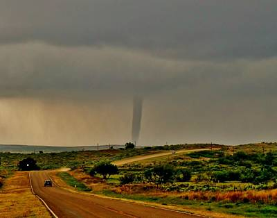 Photograph - Next Stop Tornado by Ed Sweeney