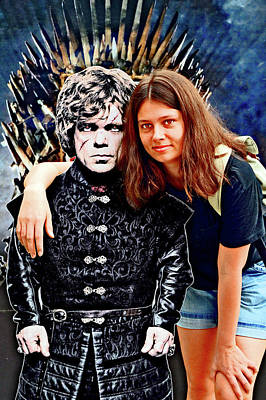 Walker Digital Art Photograph - Next To Iron Throne. Tyrion Lannister. by Andy Za