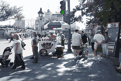 Photograph - Next To Jackson Square by Garland Oldham