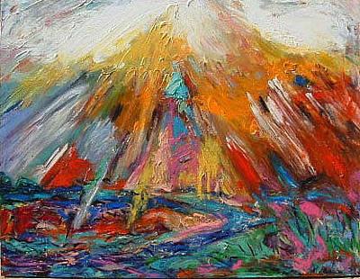 Painting - Nexus by Banning Lary