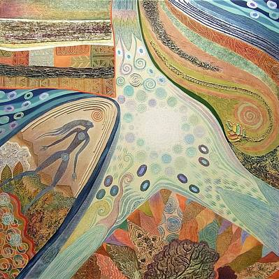 Painting - Nexus Point Approaching by Jennifer Baird