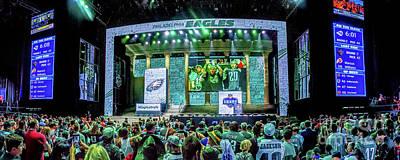 Photograph - Nfl Draft Stage 2017 by Nick Zelinsky
