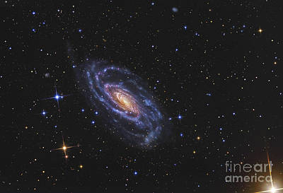 Center Glow Photograph - Ngc 5033, A Spiral Galaxy Situated by R Jay GaBany