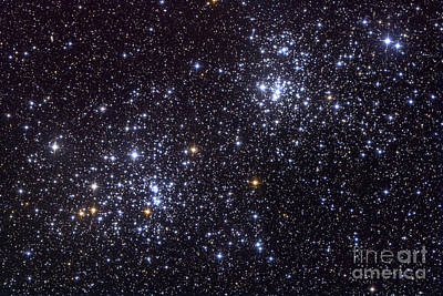Radiant Image Photograph - Ngc 884, An Open Cluster by Roth Ritter