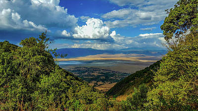 Photograph - Ngorongoro Crater by Marilyn Burton