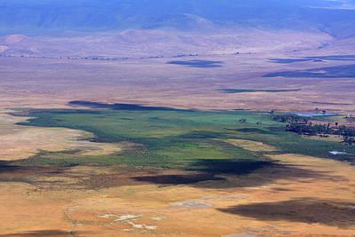Photograph - Ngorongoro Crater Tanzania by Aidan Moran