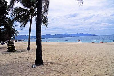 Katharine Hepburn - Nha Trang, Vietnam Beach by Rich Walter