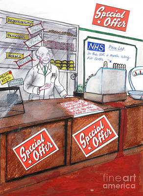 Painting - NHS by Michelle Deyna-Hayward