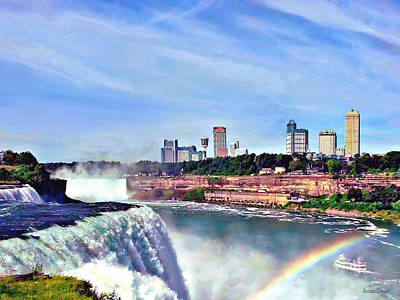 Photograph - Niagara Falls Ny - Under The Rainbow by Susan Savad