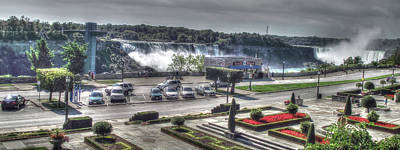 Photograph - Niagara - American And Horseshoe Falls by Leslie Montgomery