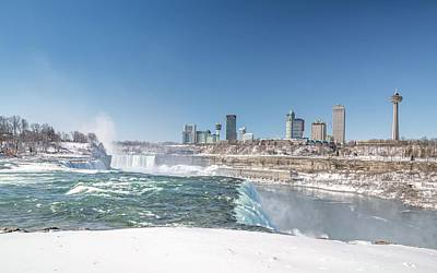 Photograph - Niagara And Canada by Framing Places