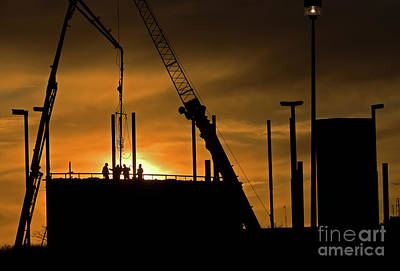 Photograph - Niagara College Construction by JT Lewis