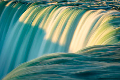 Photograph - Niagara Falls - Abstract I by Mark Robert Rogers