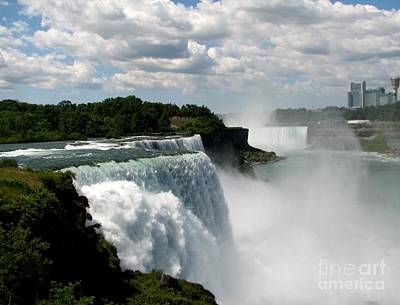 Photograph - Niagara Falls American And Canadian Horseshoe Falls by Rose Santuci-Sofranko