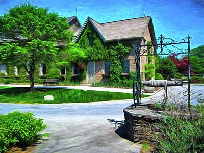Photograph - Niagara Falls Botanical Garden Y1 by Carlos Diaz