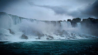 Power Trip Photograph - Niagara Falls Canada by Martin Newman