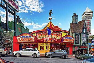 Photograph - Niagara Falls - Clifton Street 2 by Steve Harrington