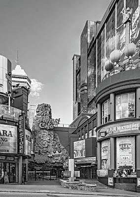 Photograph - Niagara Falls - Clifton Street 3 Bw by Steve Harrington